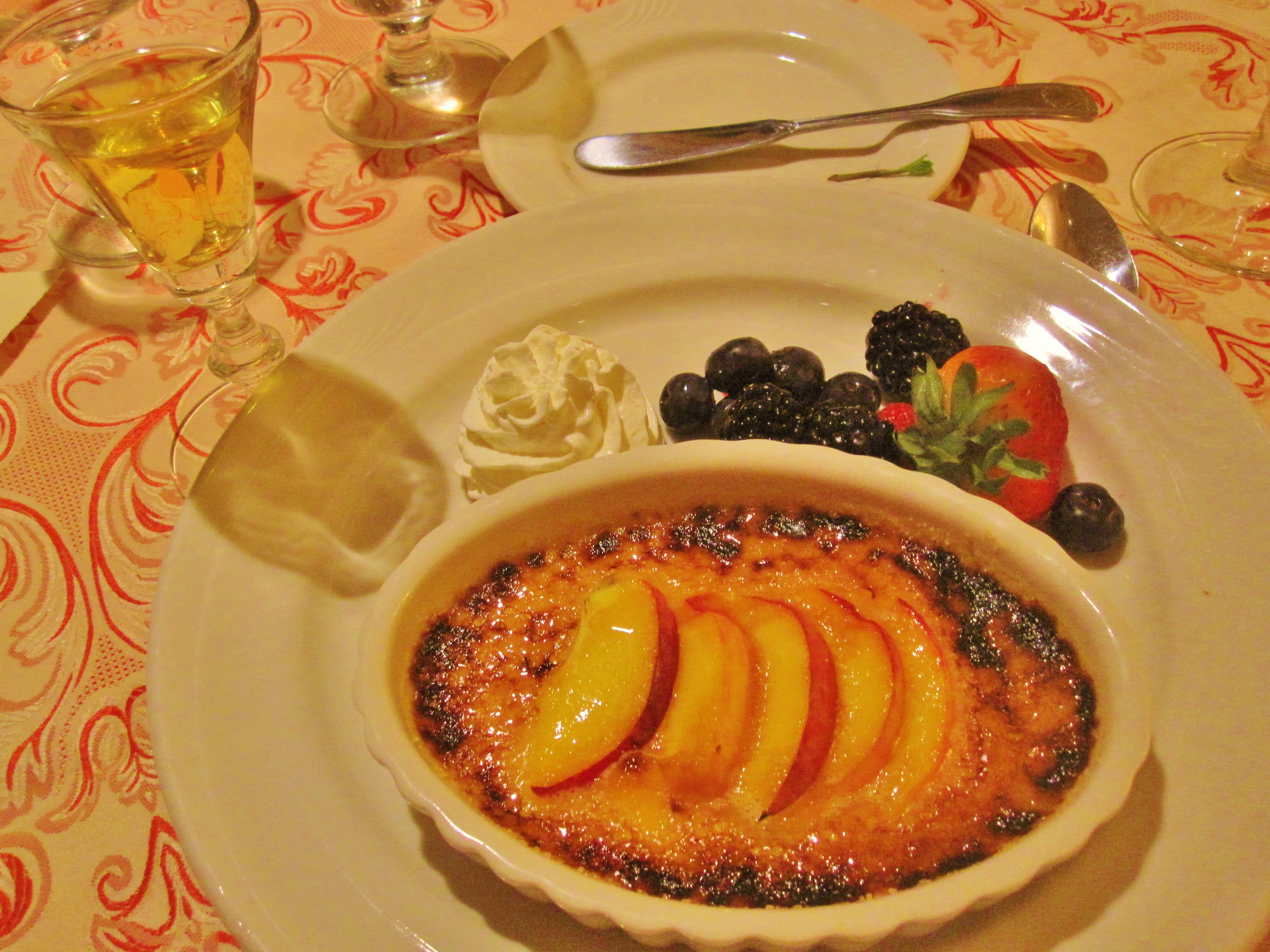 Peach Brulee Recipes — Dishmaps