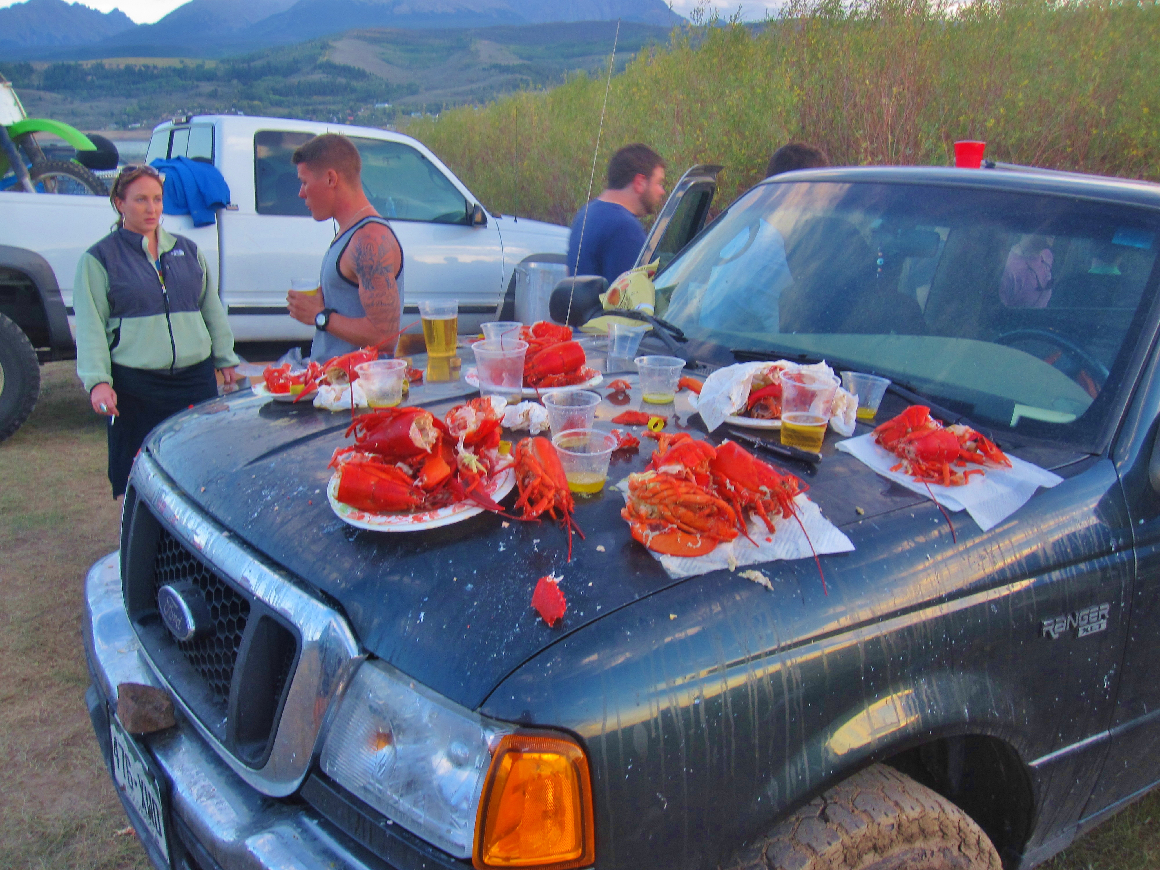 Rainbows, Lobsters Team Up at Green Mountain Reservoir | Wake and Wander