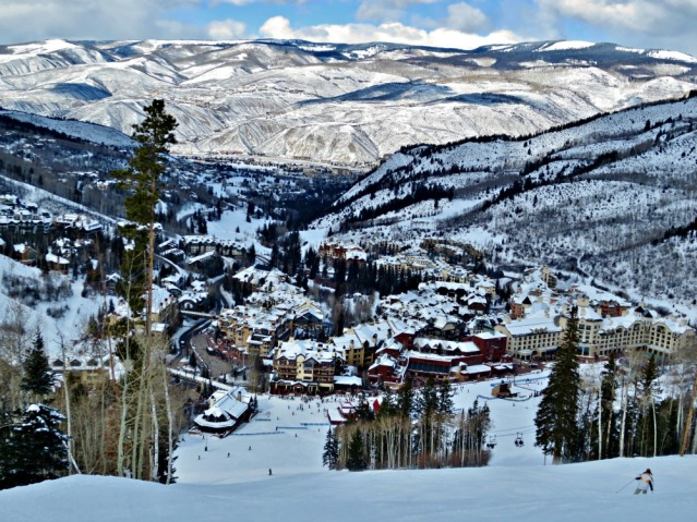 View of Beaver Creek from Beaver Creek Mountain.