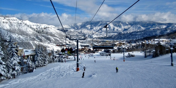 View from the lift at Snowmass. Photo by Wake and Wander.