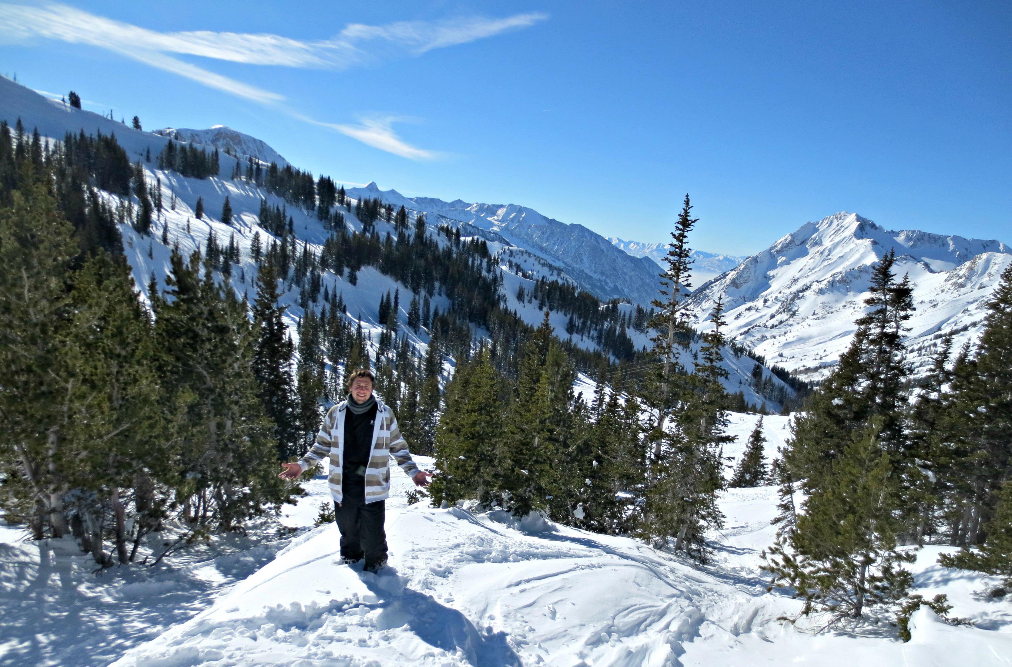 Soaking Up The Scenery On The Slopes Of Salt Lake Photos