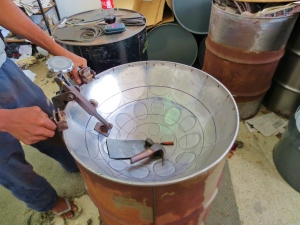 The steel pan, or steel drum, was invented in Trinidad. Photo by Wake and Wander.