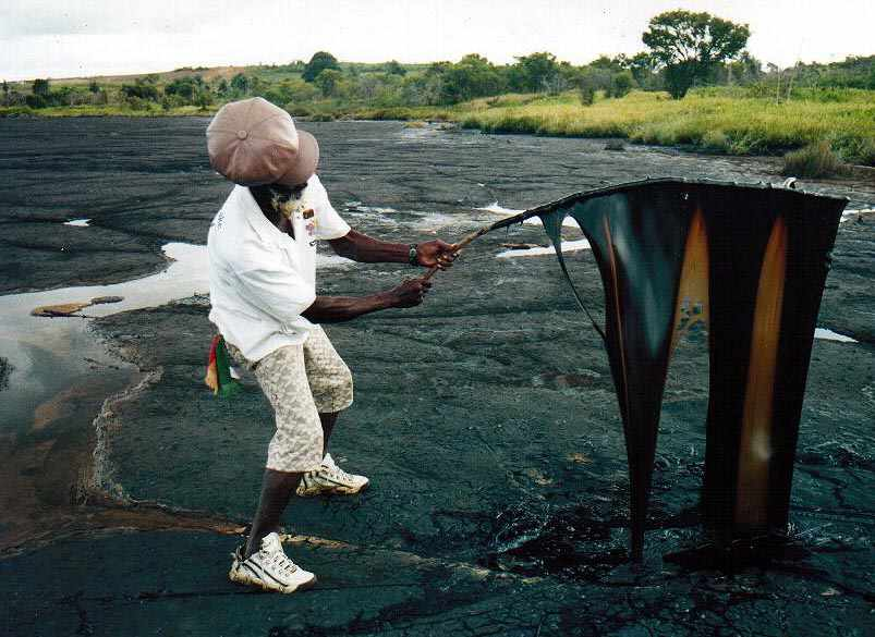 Pitch Lake: Discovering Where Asphalt Comes From in Trinidad