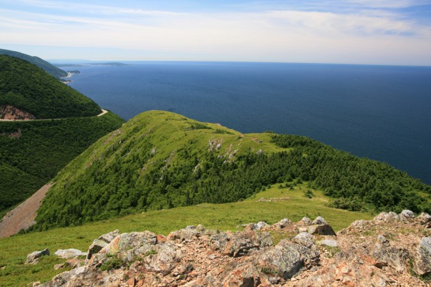 Skyline Trail in Nova Scotia. Photo from Shutterstock.