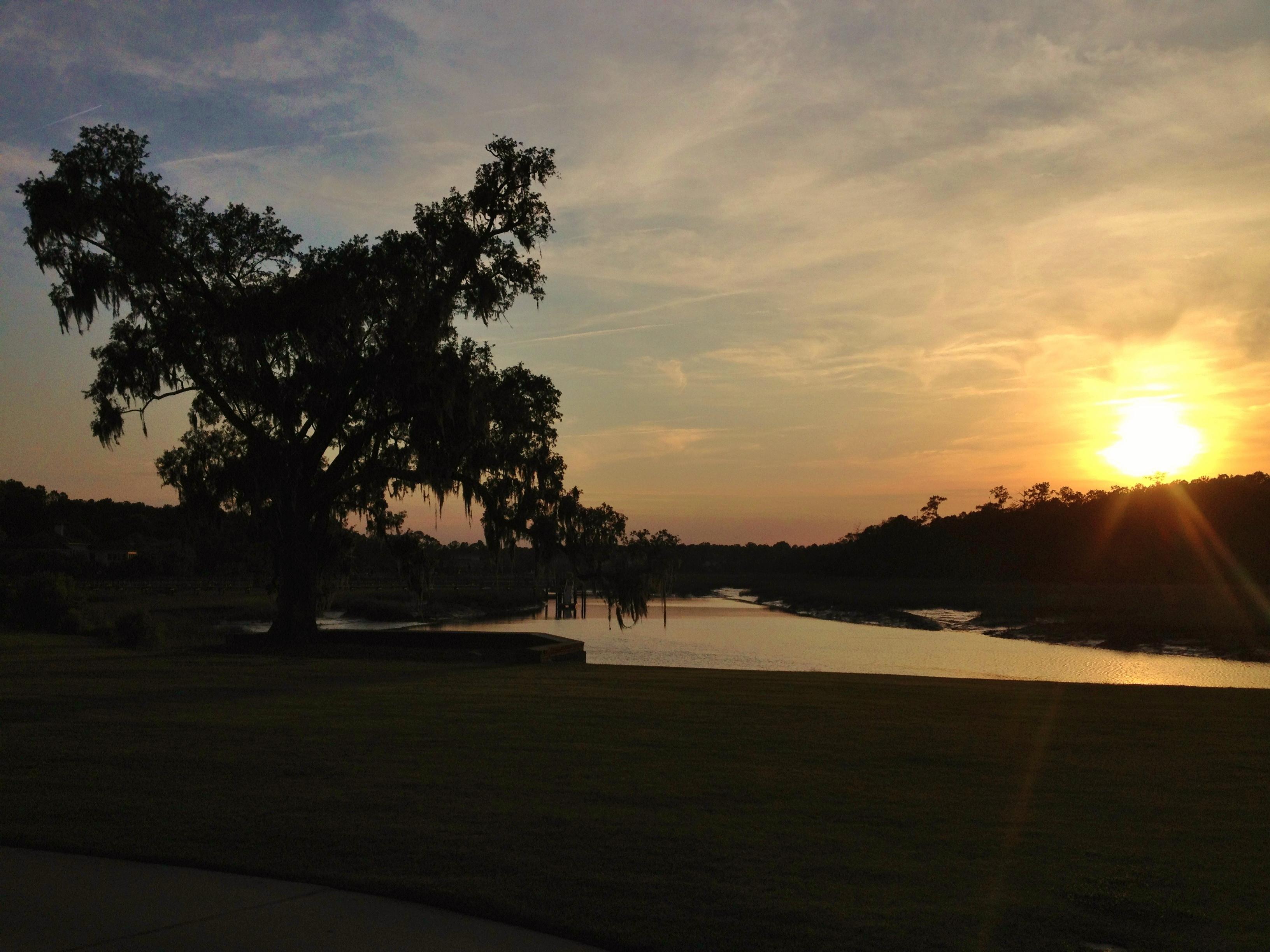 Waterway At Sunset On Isle Of Palms In Charleston South Carolina Photo By Wake