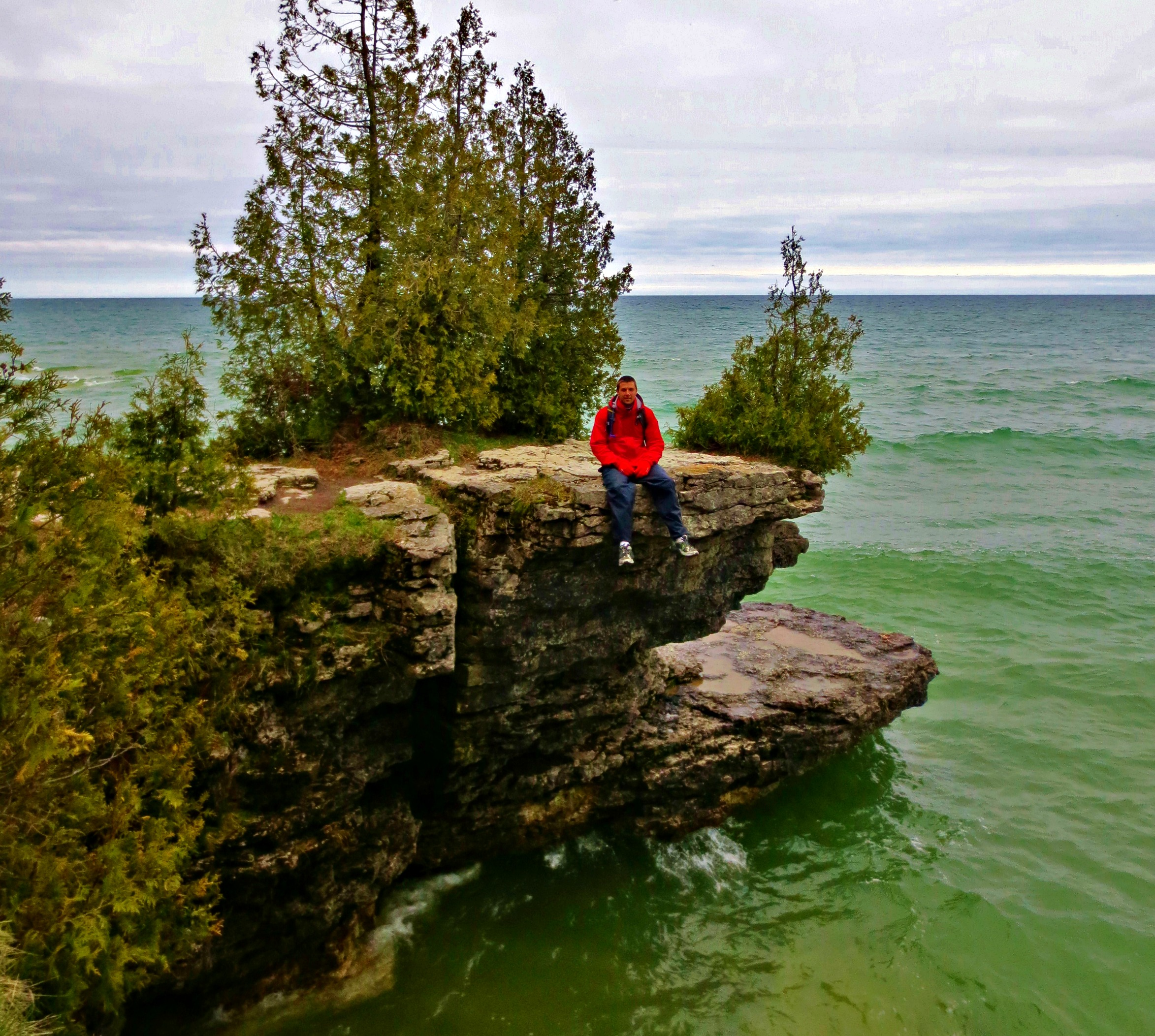 Cave Point County Park in Door County Wisconsin. Photo by Wake and Wander. & Door County: u0027Wisconsin Coastlineu0027 Not an Oxymoron u2013 Wake and Wander