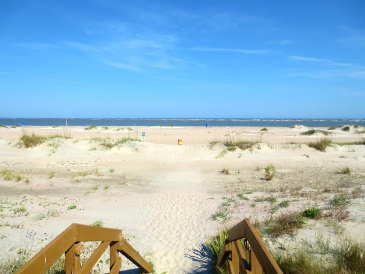Beach on Isle of Palms in Charleston, South Carolina. Photo By Wake and Wander.