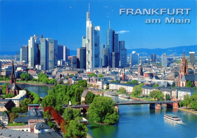 Stock photo of Frankfurt, Germany. My photos to come!