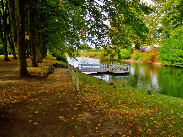 Fall colors at the beginning of September in Malmo, Sweden. Photo by Wake and Wander.