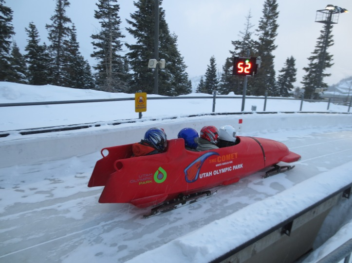 How many people in the world do you think have gone bobsledding? Photo by Wake and Wander.