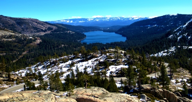 Donner Lake near Tahoe. Photo by Wake and Wander.