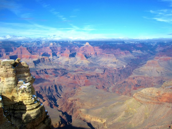 View of the Grand Canyon from the South Rim. Photo by Wake and Wander.