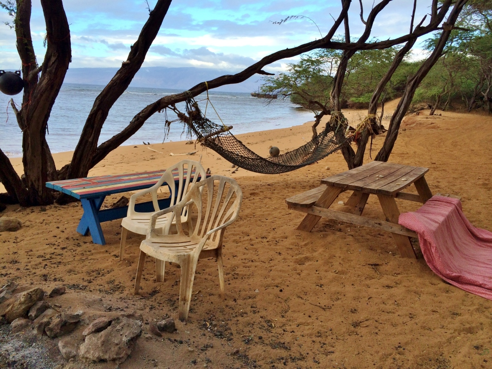 Awalua Beach on Lanai. Photo by Wake and Wander.