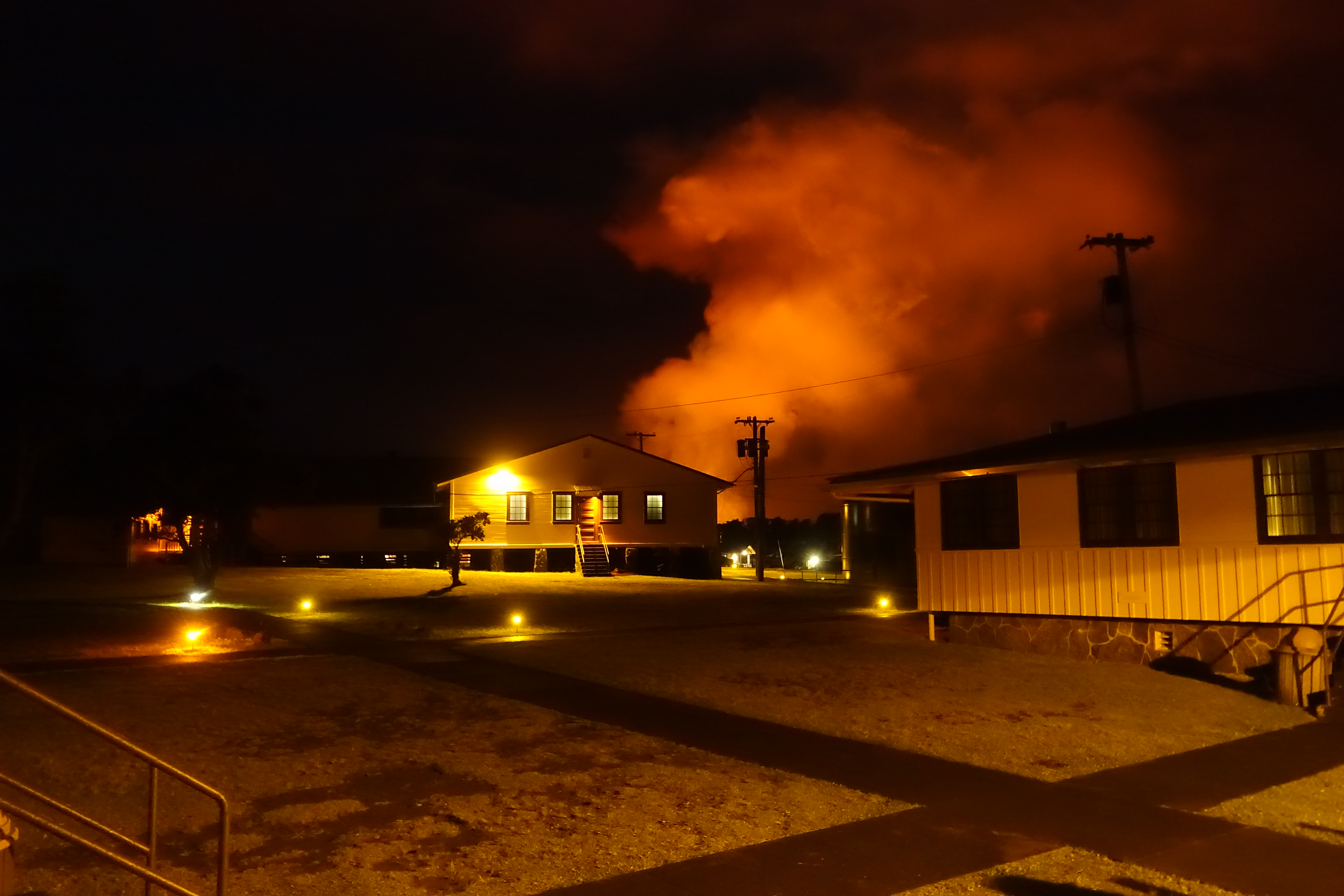 Volcanic Eruption: On the Front Lines at Kilauea Military Camp