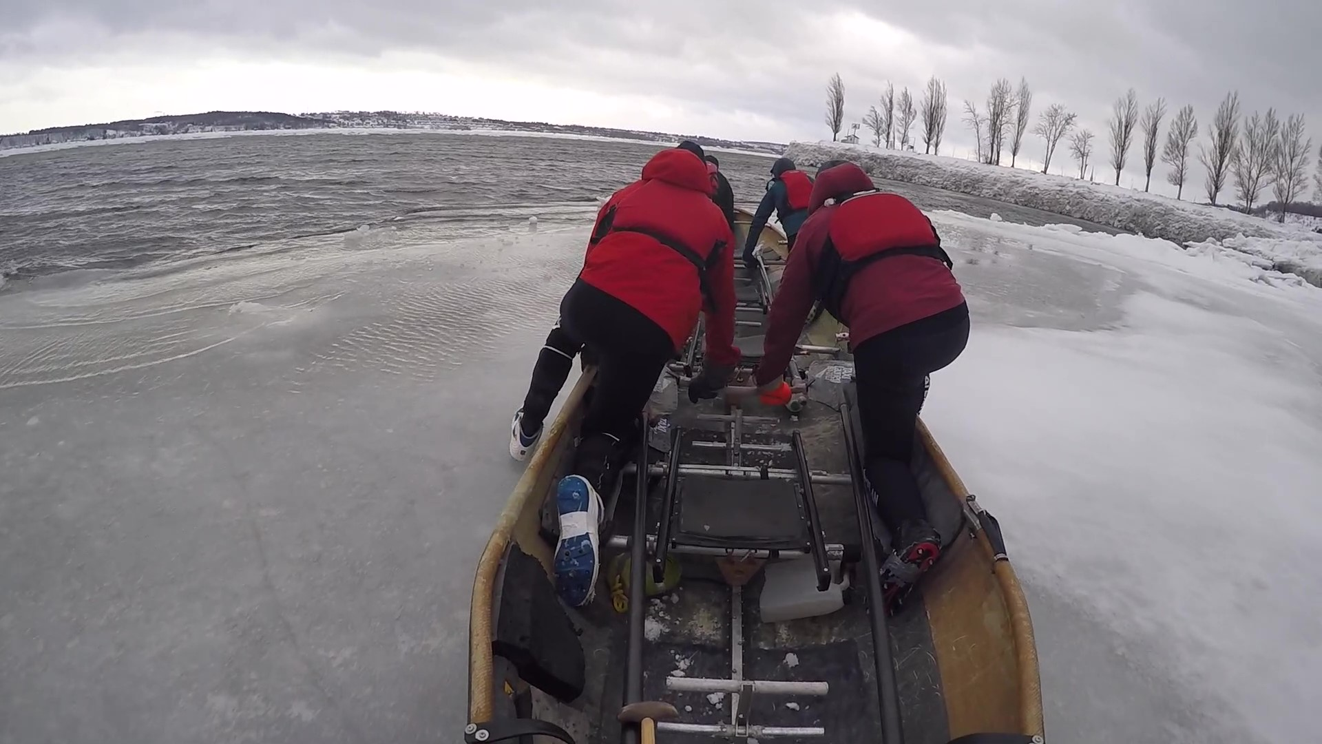 Video: My New Favorite Winter Sport, Ice Canoeing in Quebec City