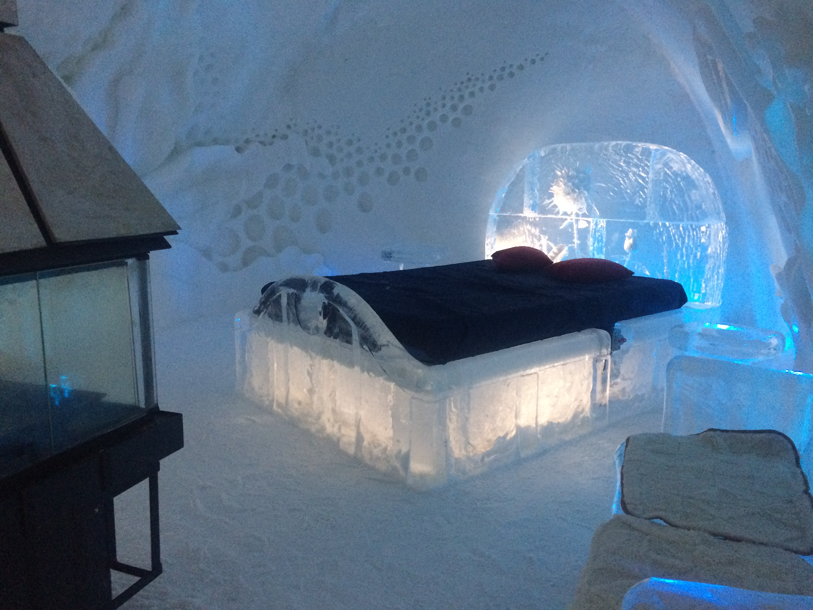 A Night at the Ice Hotel in Quebec